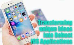 Transforming unique Ideas into Robust iOS Applications
