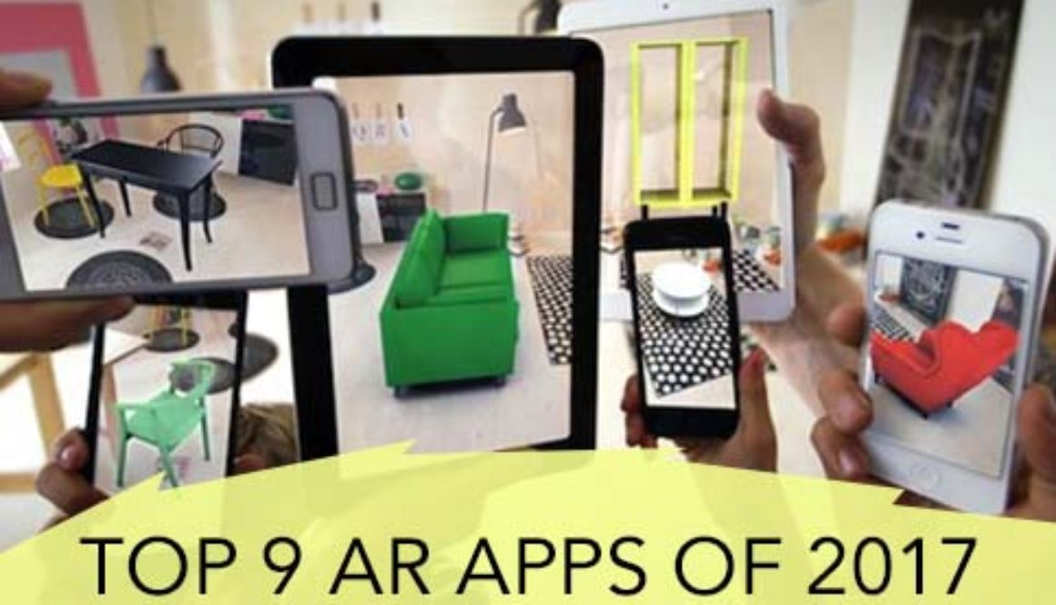 Top 9 Augmented Reality Apps of 2017
