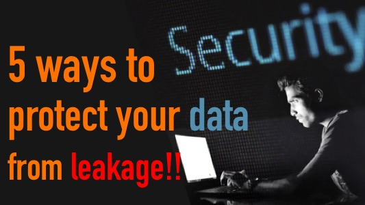 protect-data-from-leakage
